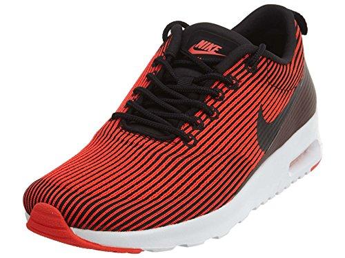Nike W Air Max Thea Kjcrd, Damen Turnschuhe, schwarz - Black (Schwarz/Schwarz-Brght Crmsn-weiß) - Größe: 40