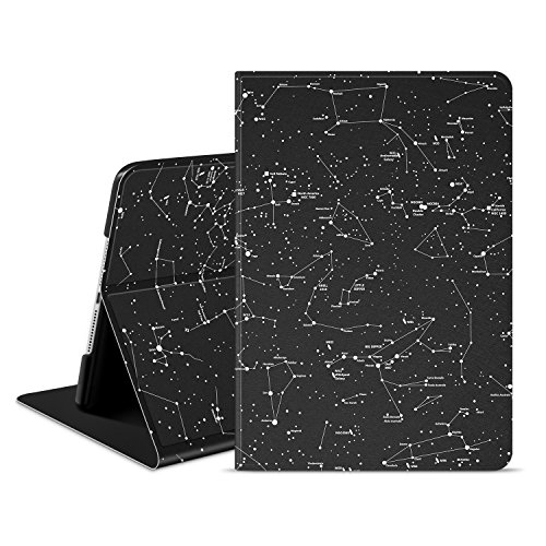 Ayotu New iPad 9.7 2017 Case,Slim Lightweight Cover with Auto Wake/Sleep Function And Multi-Angle Viewing Stand Smart Protective Cover Case for Apple New iPad 9.7 inch 2017 Model-The Horoscope