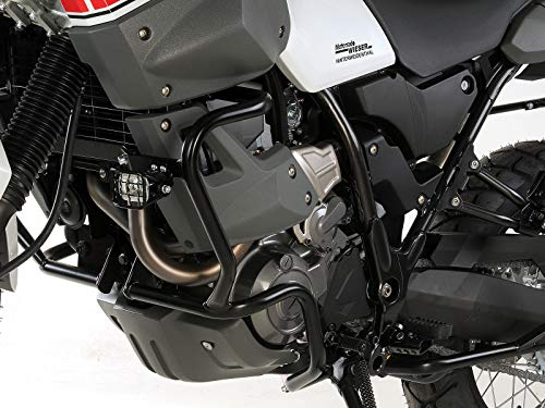 Hepco&Becker Barra de protección del motor negra para Yamaha XT
