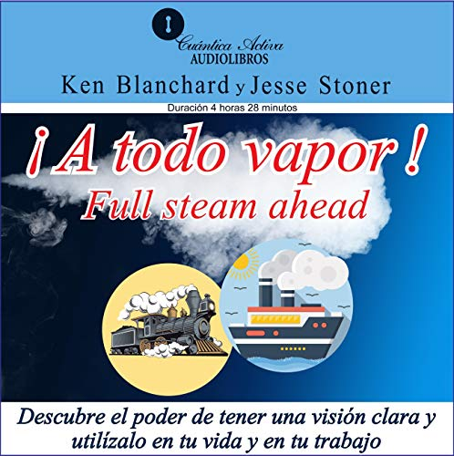 A Todo Vapor [Full Stream Ahead] audiobook cover art