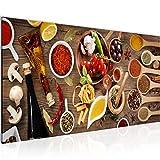 Bilder Küche - Gewürze Wandbild 100 x 40 cm Vlies -