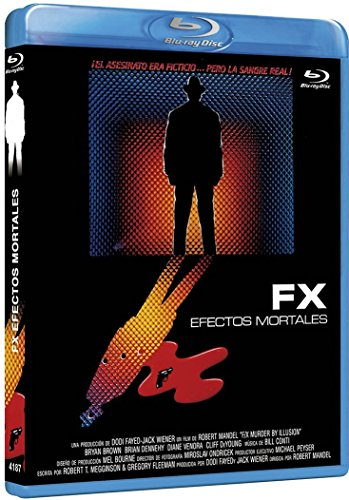 Fx Efectos Mortales BDr 1986 F/x Murder by Illusion [Blu-ray]