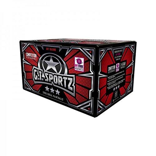 G.I. Sportz 3 Star Paintballs, Cal. 68
