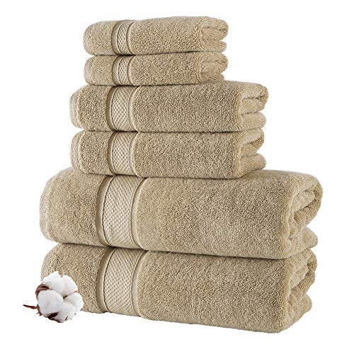 Nova Luxury Bath Towel Set - Ultra Soft Premium Turkish Cotton Bath...