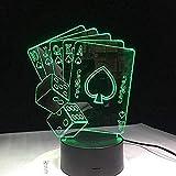 A-Generic Nightlight 3D Sports Car Night Light Optical 20 Cambios de Color con Smart Touch y Bluetooth Control Lámpara de Mesa con USB niños-Jugar a Las Cartas