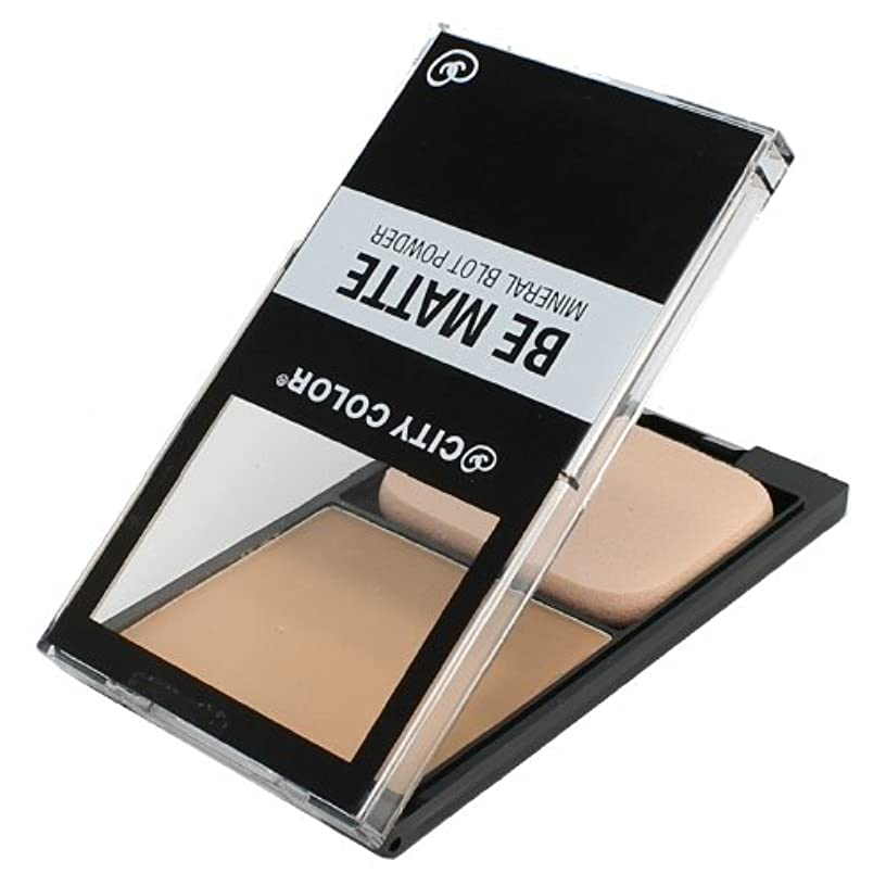 東植生定説CITY COLOR Be Matte Mineral Blot Powder - Translucent (並行輸入品)