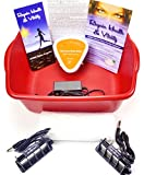Ion Ionic Detox Foot Bath Spa Chi Cleanse Unit for Home Use with 2 Super Duty Arrays and Extras!