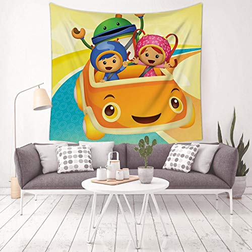 EELMOOR Te-am Um-izo-omi 3D Tapestry Wall Hanging Tapestry Home Decor Blankets