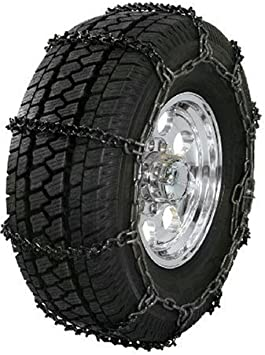 Security Chain Company QG1850 Quik Grip V-Bar Type RP Passenger Vehicle Tire Traction Chain - Set of 2: image