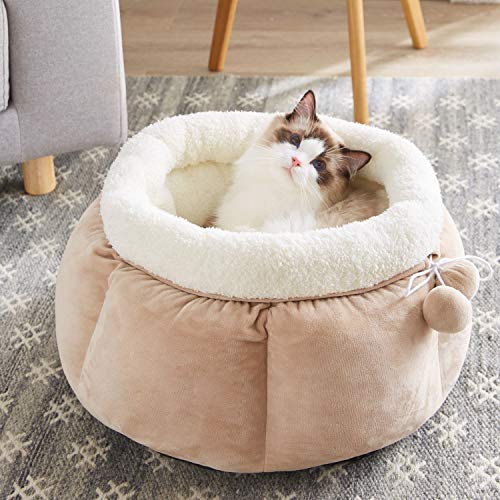 Round Cat Bed Cuddler $17.39 (40% OFF)