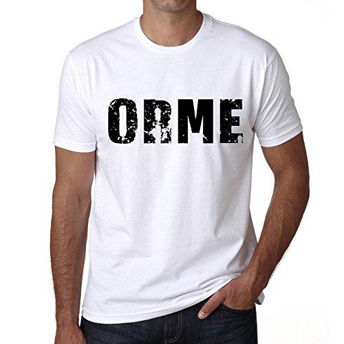 Homme T Shirt Graphique ImprimÈ Vintage Tee Orge Large