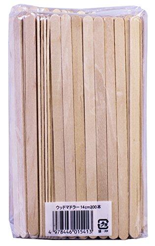 maruki 木製 コーヒーマドラー14cm 400本セット 200本入× 2個組