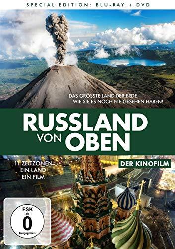 Russland von oben - Der Kinofilm (+DVD) [Blu-ray]