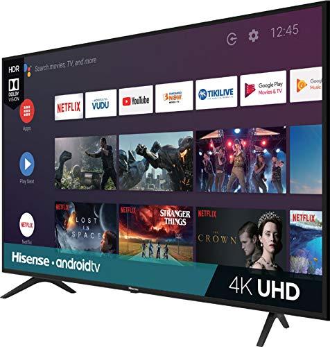Hisense Pantalla 43' 4K Ultra HD Android TV 43H6500F