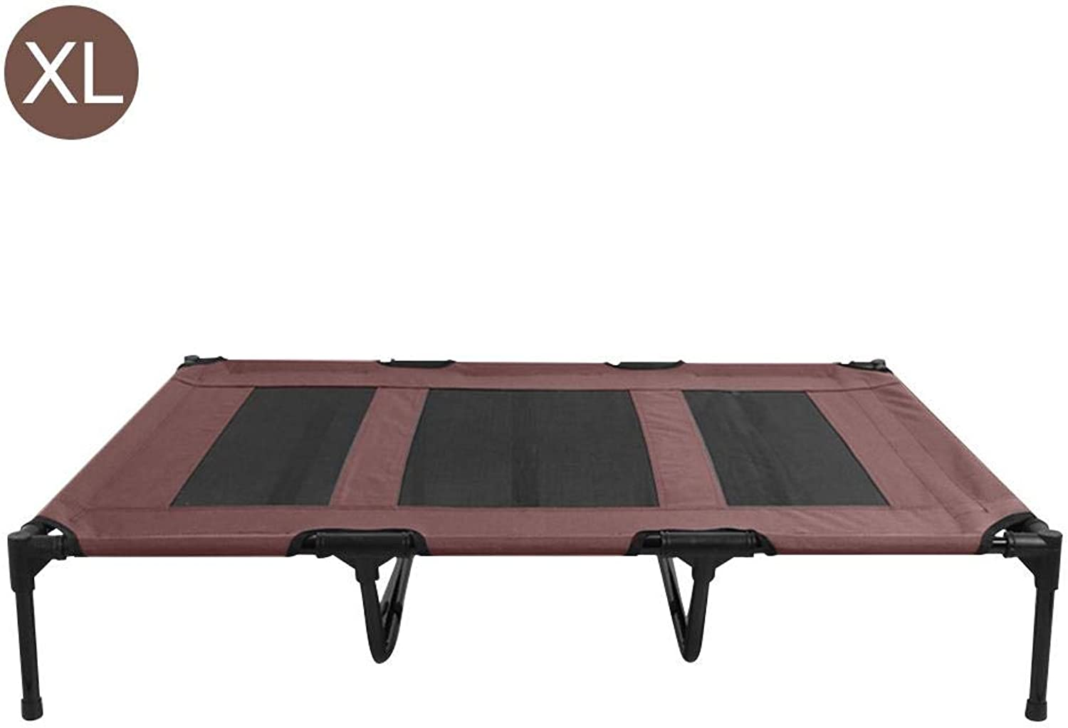 Azurely Pet elevated Raised bed Overhead pet trampoline, Pet jumping Cot Bed with Breathable removable and washable