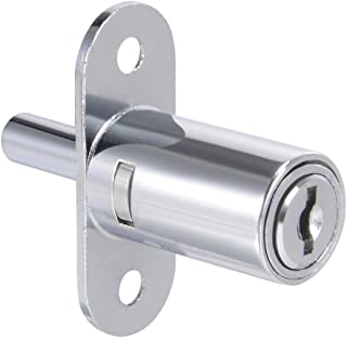 uxcell Plunger Lock, Keyed Alike, 3/4-inch 19mm Cylinder Track Push