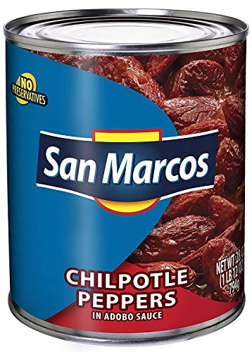 San Marcos Chipotle Peppers In Adobo Sauce, 28 oz