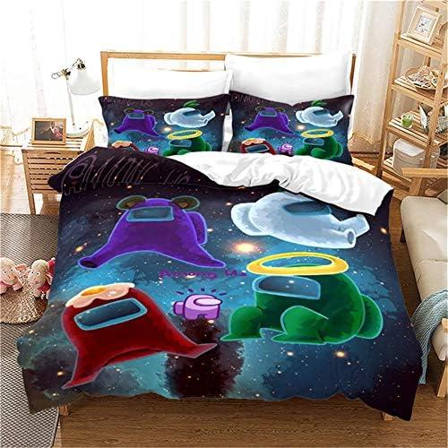 NICHIYO Among US 3-Piece Duvet Cover Bedding Ultra Set Regular discount Max 86% OFF Soft