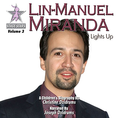 Lin-Manuel Miranda audiobook cover art