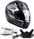 Best Modular Snowmobile Helmets - Typhoon Helmets Adult Full Face Snowmobile Helmet With Review