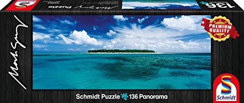 Schmidt- Puzzle Lady Musgrave Island Queensland Australia Mark Gray 136 Pezzi, 59363