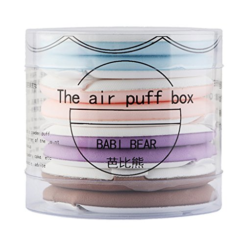 magideal 8 Air Kissen Puff Cream Foundation Applikator Schwamm Puff Gesichts-Puder Mixer Glatte...