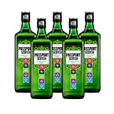 Whisky Passport Scotch de 70 cl - D.O. Escocia - Bodegas Osborne (Pack de 5 botellas)