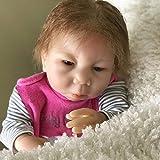 WY-SYY Reborn Baby Doll, Muñeca Bebé Bebé Soft Realista de 18 Pulgadas, con Accesorios, Vida Real Bebé Muñecas, Muñecas Bebé Realistas Lifelike Niño Adorable Regalo para Niños Cumpleaños,Flesh