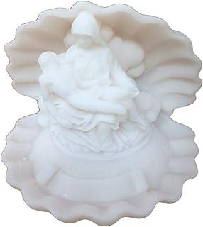 17 cm Biblegifts Madonna Vierge Marie 3/Tailles: 26/cm 22/cm /& 17/cm Blanc en c/éramique Statue Ornement catholique Florentine Collection dans Une bo/îte Cadeau C/éramique Blanc