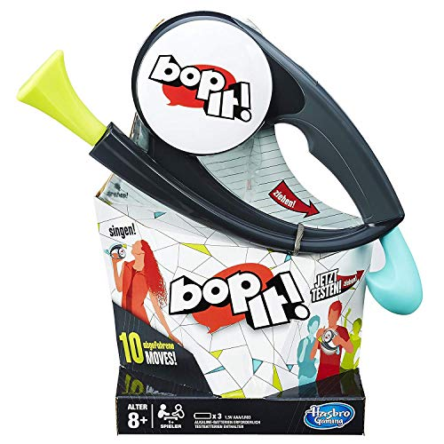 Hasbro Bop It! temporeiches Reaktionsspiel,Kinderspiel