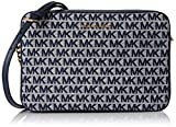 Michael Kors JET SET, LG EW CROSSBODY para Mujer, MARFIL MULTI, Large