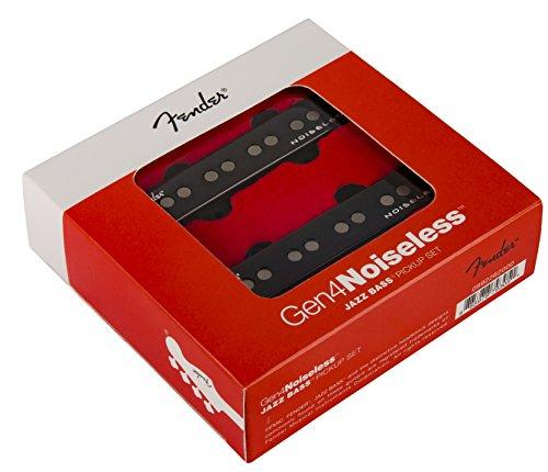 Fender Generation 4 Noiseless Jazz Bass Single-Coil Pickups - Set of 2