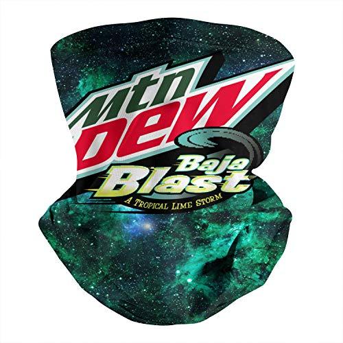Mountain-Dew-Baja-Blast- Outdoor Headwear Sports Tube UV Face Mask for Men Women Dust & UV Sun-Protection Neck Gaiters
