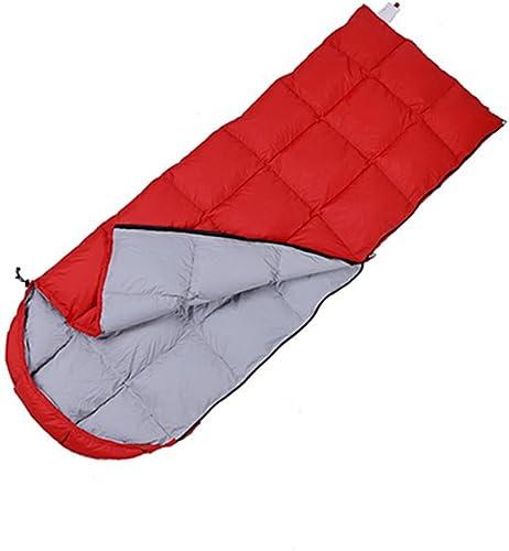 SHUIDAI Camping sacs de couchage épais chaud plein air , rouge