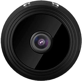 Mopoq Mini WiFi Hidden Camera, HD 1080P, Spy Camera, Motion Detection Camera, Infrared Night Vision, Automatic Alarm And B...