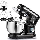 ALBOHES Stand Mixer, 600W 6 Quart Tilt-Head Dough Mixer, Electric Kitchen Mixers Food Mixer with...