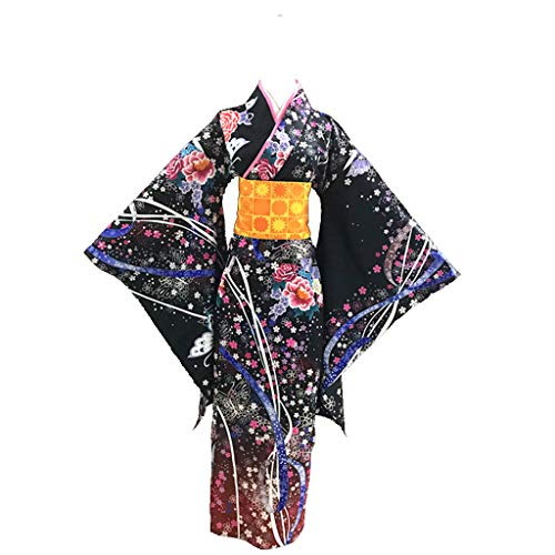 Shanghai Story Japanese Style Kimono Cosplay Costume for Japan Anime Fans 3XL