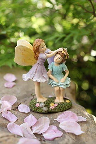 LA JOLIE MUSE Miniature Fairy sale Garden Figurines Hand 4 - Pai Max 60% OFF Inch