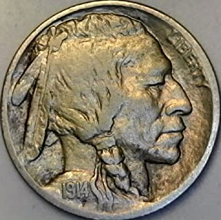 1914 D Buffalo Rare Nickel Extremely Fine Condition
