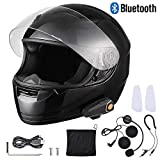 AHR Bluetooth Motorcycle Full Face Helmet Motorbike Modular...