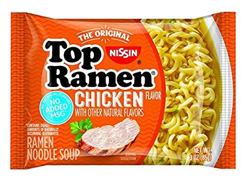 Nissin Top Ramen Chicken Flavor, 24 Count (SOUPS - CUP)