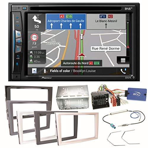 Pioneer AVIC-Z710DAB - Radio Digital para Opel Astra H, Corsa D, Zafira B y Antara (Bluetooth, USB, Dab+, CD, DVD y MP3)
