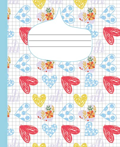 Graph Paper Notebook: Quad Ruled Composition Notebook is Perfect for Math and/or Science Notetaking and Practice For School and Home Schooling but Can ... for Sketching Doodling Journaling and More