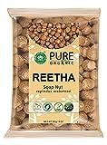 Lendom SKYMORN- Pure Organic Raw Whole Reetha/Soap Nut/Aritha for Hair Growth and Skincare (227 gm)