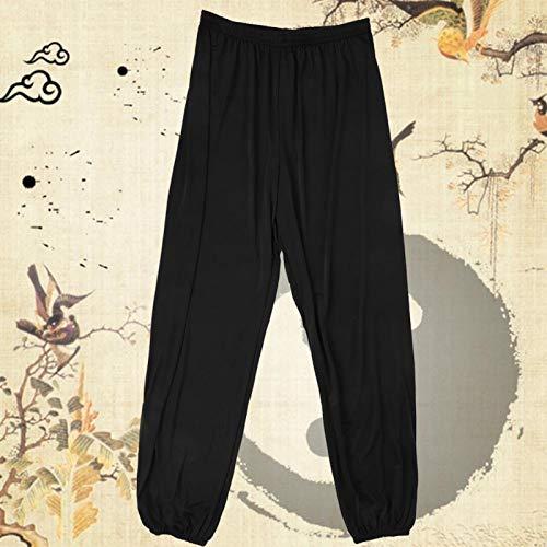 SALUTUYA Pantalones de Yoga para Mujer Pantalones de Fitness para Mujer Transpirable Cómodo, para Gimnasia(Black, 2XL)