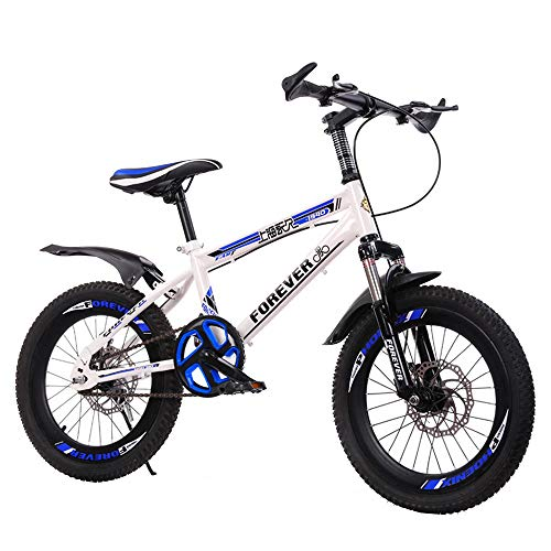 BAOMEI Kids Bike 18 20 Inch,Kids Outdoor Bicycle,for 7-14 Years Old Boys and Girls Adjustable Children Mountain Bike (Color : C, Size : 18in)