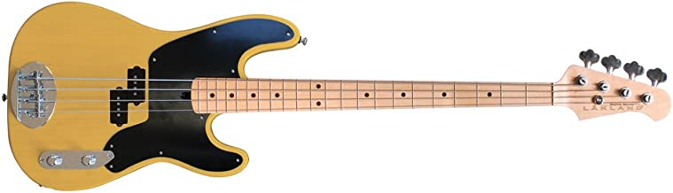 Lakland Skyline Series 44-51 4-Strings Electric Guitar (Butterscotch Blonde)
