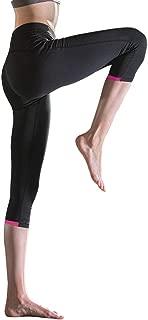 PEAK Women's High Waist Yoga Pants Ultra Soft Lightweight Non See-Through Pants Red