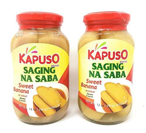 Kapuso Saging na Saba Sweet Banana 12oz, 2 Pack