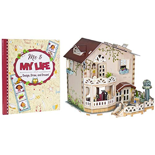 Cozy Cottage: My First Dollhouse 3D Puzzle and Book